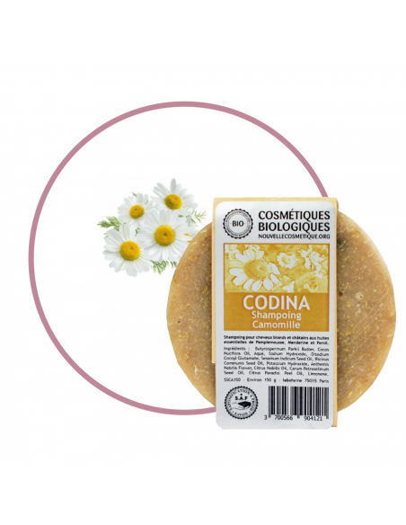 Shampoings solides Shampoing Solide Camomille vegetal Codina
