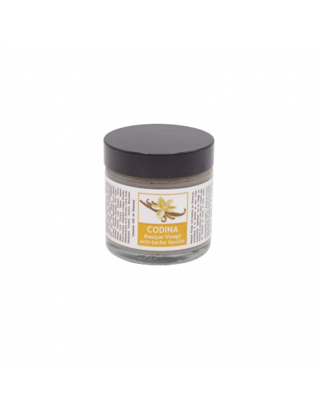 Masques, Gommages & Lotions Masque Visage anti-tâche Vanille vegetal Codina